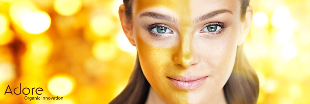 Adore golden mask prevents common signs of aging