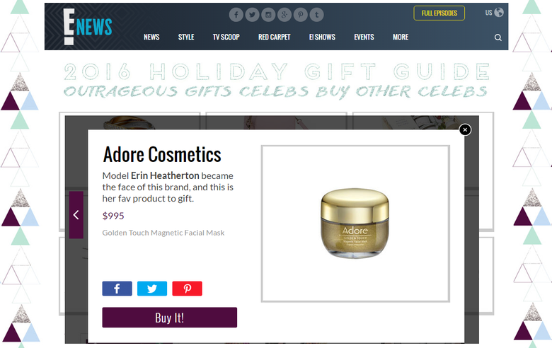 Adore Cosmetics News Roundup December