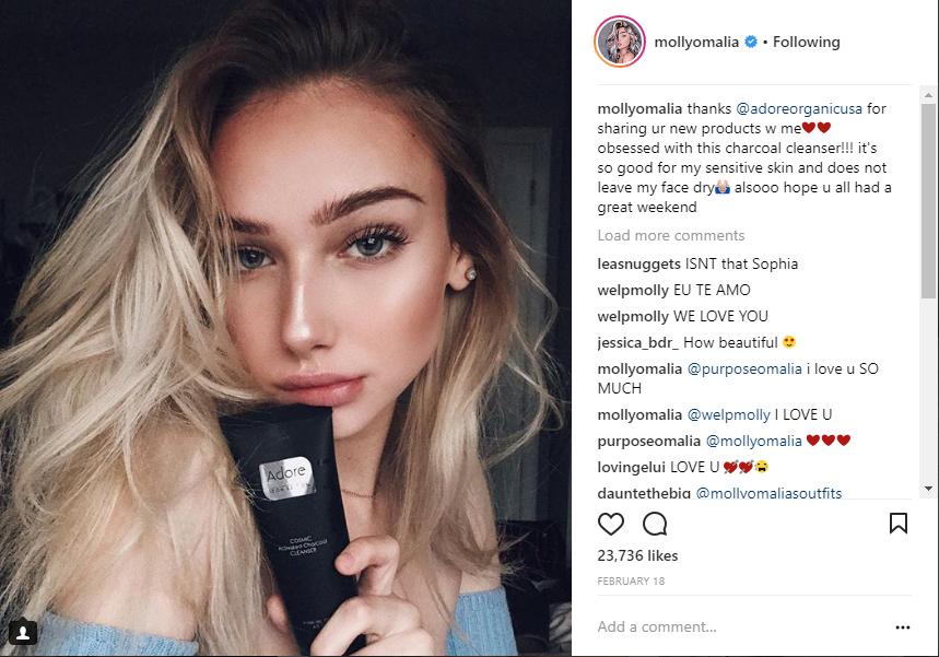 Molly O'Malia Adore Cosmetics News Roundup March 2018 News